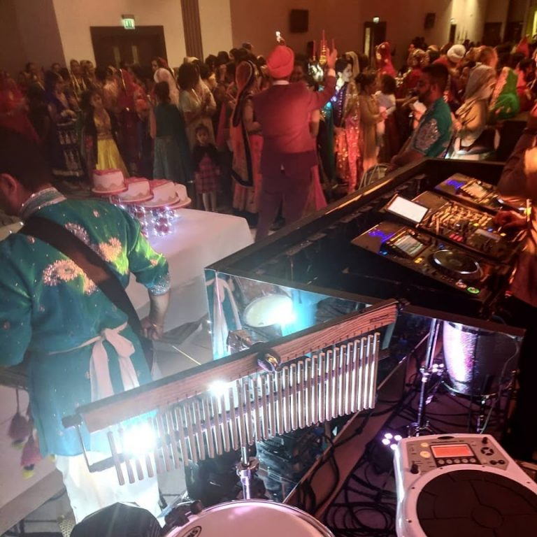 King Konga - Asian wedding percussionist / bongo player with Sunny Jagpal