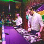 King Konga bongo player at Aura bar and lounge Kettering