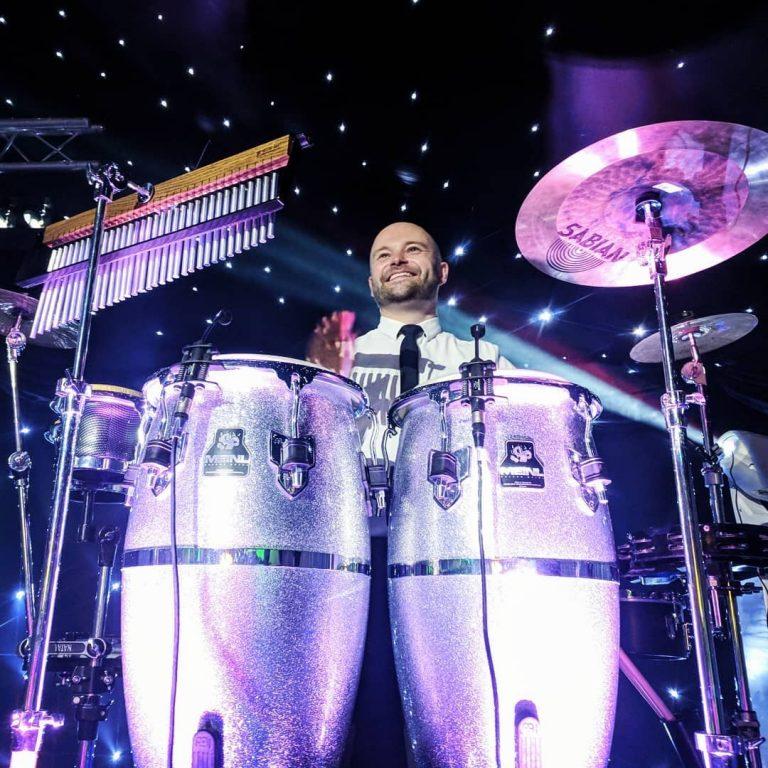 King Konga wedding percussionist