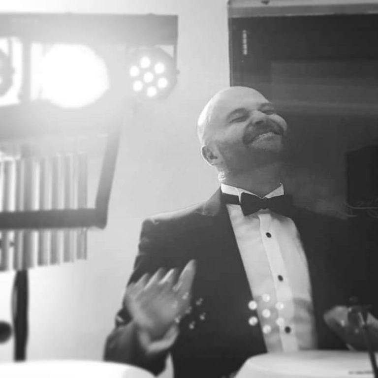 King Konga Percussionist / bongo player. Black tie party