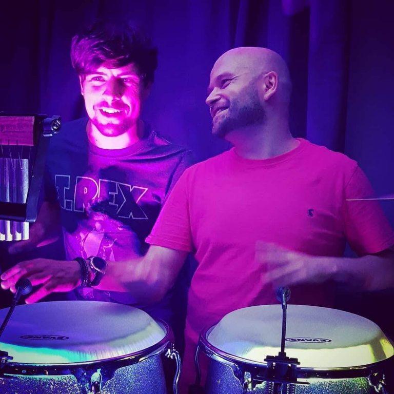 King Konga - party Percussionist / Bongo player.