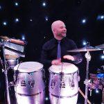 King Konga - Corporate Party Percussionist / Bongo player.