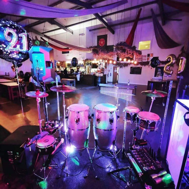 King Konga - 21st Party Percussionist / bongo player
